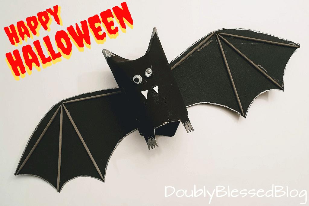 Halloween Fledermause Basteln Doublyblessedblog