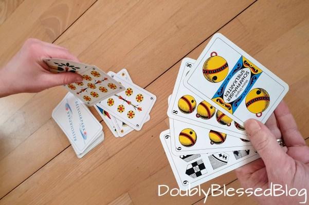 Kartenspiele Tschau Sepp oder Mau Mau