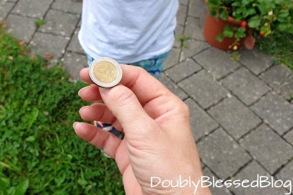 Eine Münze werfen - Eintshciedungsspiele - Kinderspiele