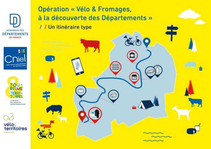 Vélo et fromages, un nouveau label national