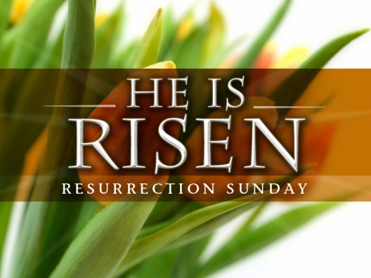He Is Risen-Easter (title)