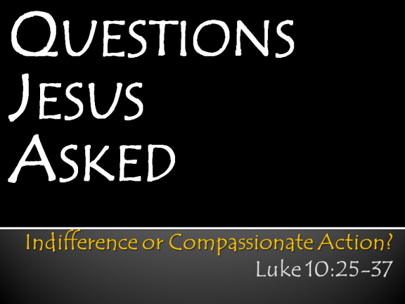 Session 3 - Indifference or Compassionate Action