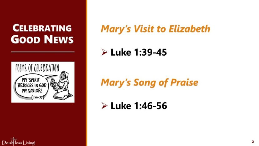 Mary Visits Elizabeth - Doubtless Living in Tennessee