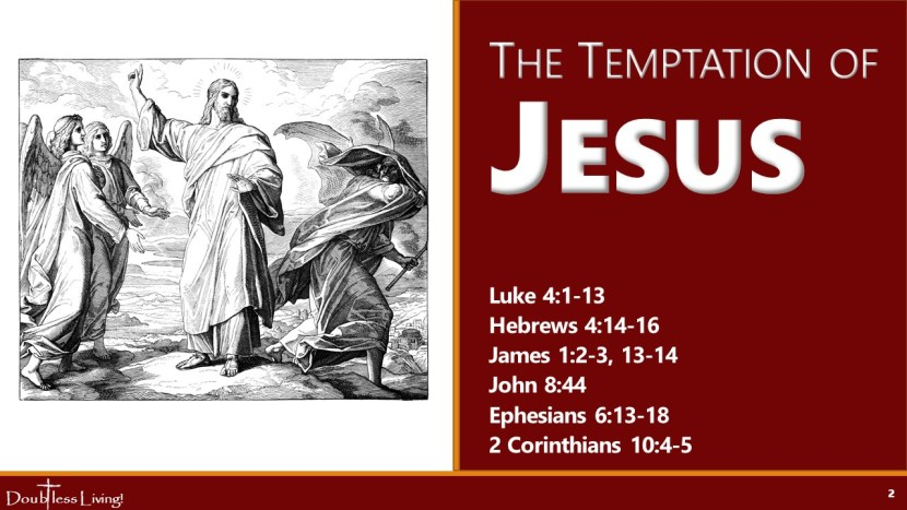 The Temptation of Jesus - Doubtless Living in USA
