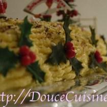 Buche de Noël à la vanille et au krisch