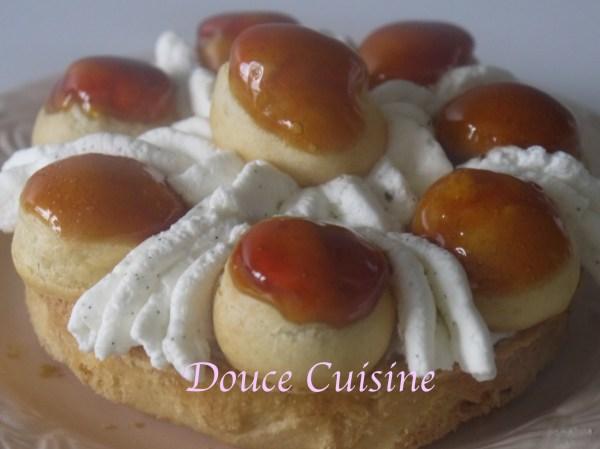 Saint-Honoré caramel beurre salé