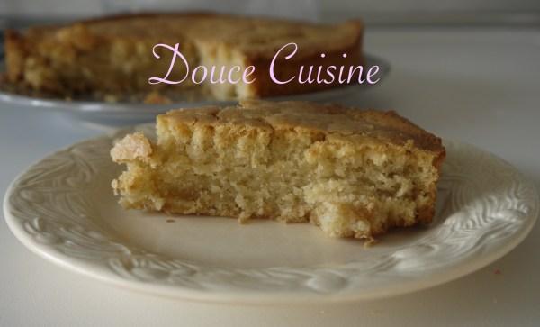 Gâteau à l'eau sans oeuf, sans lactose