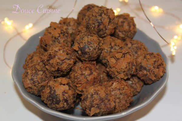 Truffes au caramel beurre salé de Pierre Hermé