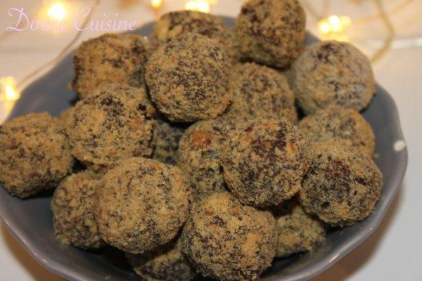 Truffes au chocolat Dulcey