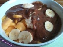 Mangue, banane et caroube