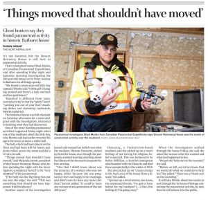 """""""Things moved that shouldn't have moved"""", by Robin Grant, Northern LIght, January 14, 2020"""