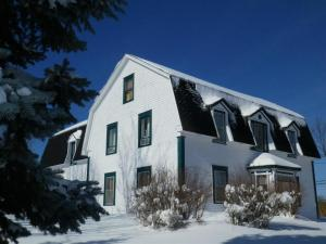 Maison Doucet Hennessy House in winter / en hiver