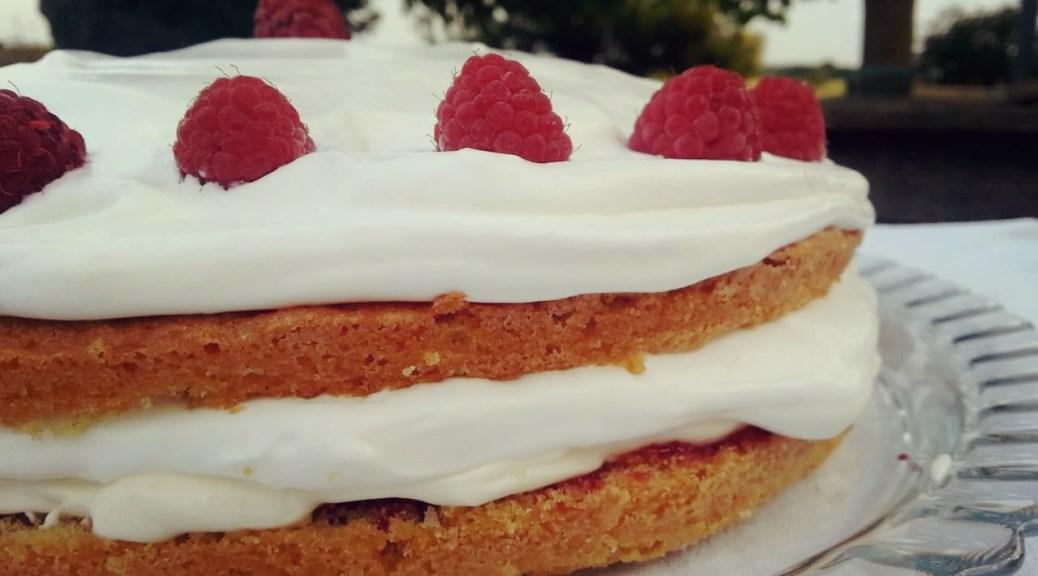 Victoria Sponge Cake 維多利亞海綿蛋糕