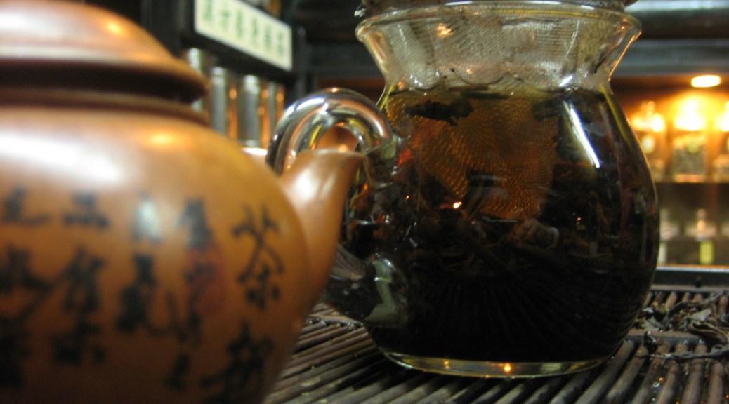 thé 茶 cérémonie de thé