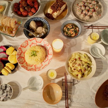 Repas nouvel an chinois 2017