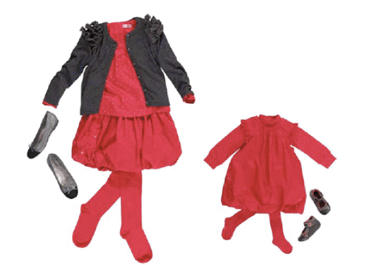 f4cb6b2bc0ea2 Shopping   Tenues de fête pour bébés et enfants - Doudou   Stiletto