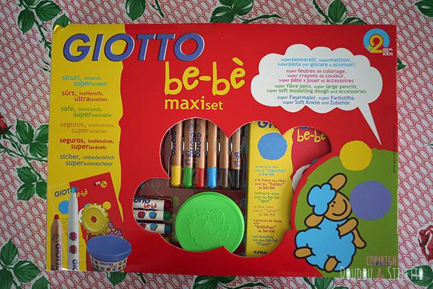 Maxi set créatif giotto