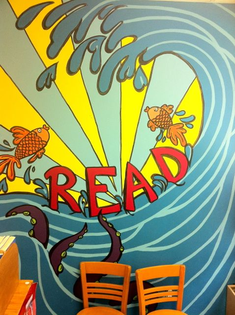 Library murals  a pet peeve  Home  Doug Johnsons Blue Skunk Blog