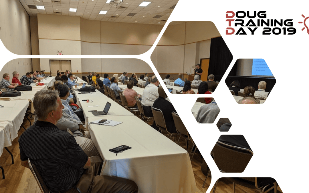 Thanks for Making the 2019 DOUG Training Day a Success