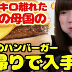 【美味しすぎて感動】ママの母国で大人気なハンバーガーを日帰りで入手出来たので食べてみた
