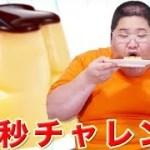 【早食い】 BIGプッチンプリン×3個=10秒チャレンジ 【驚きの吸引力】