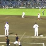ヤスアキジャンプがおもしろい感じになってしまったw オールスターゲーム第2戦 熊本藤崎台球場仕様