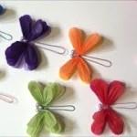 (ペーパーポンポン)簡単!かわいいトンボの作り方【DIY】(Paper Ponpon) Easy! Dragonfly