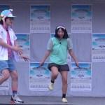 にゃんこスターのすごい縄跳び技披露と舞台袖では里崎もあの動きを!?