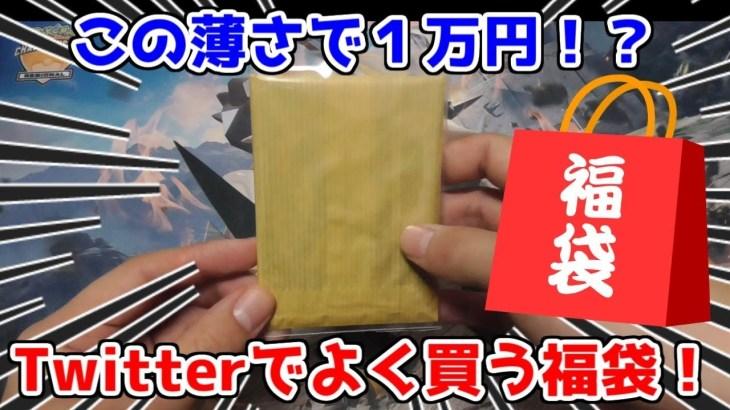 【ポケモンカード】少なくても凄い!Twitterの1万円かわいい福袋を開封してみた!