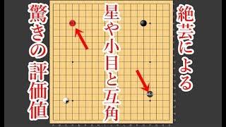 【囲碁】AI絶芸が示した驚きの評価値!高目めちゃくちゃ有力だった