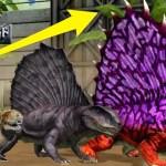 レベルマックスまで育てた『ディメトロドン』の背中がすごいことになった!#45【 Jurassic World: The Game 】実況
