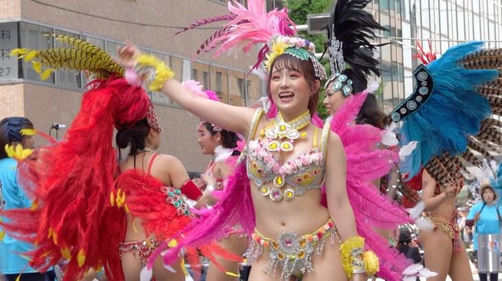💐可愛い・綺麗なダンサーさんがいっぱい💐【Escola De Samba KOBECCO】神戸まつり2019☆サンバストリート by Sony RX10m4