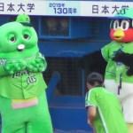 つば九郎ガチャピンの声にびっくりするww 2019.08.04 プロ野球 ヤクルトスワローズvs中日ドラゴンズ