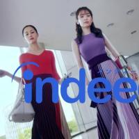 泉里香 沢尻エリカ が出演する Indeed(インディード)のCM「やってみた」篇 とメイキング映像。