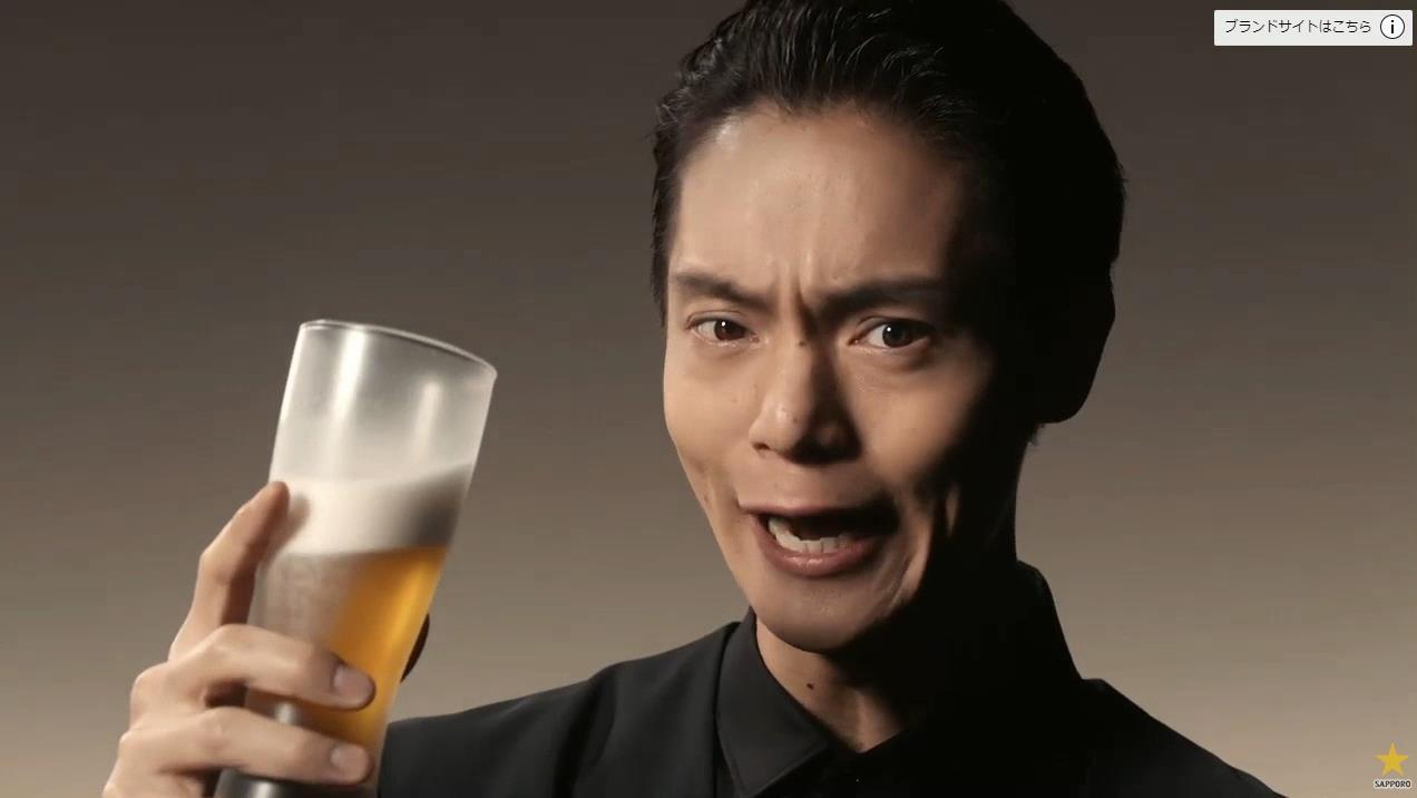 誰 サッポロ ビール cm サッポロビール