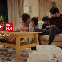 ユニクロ のCM ユニクロのクリスマス 「家族」篇「eGift Card」篇「離れている家族」篇。