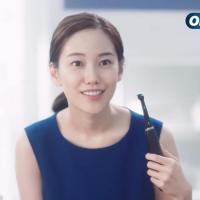 ブラウン Oral-B のCM 『誕生 次世代電動歯ブラシ「オーラルB iO」』篇。