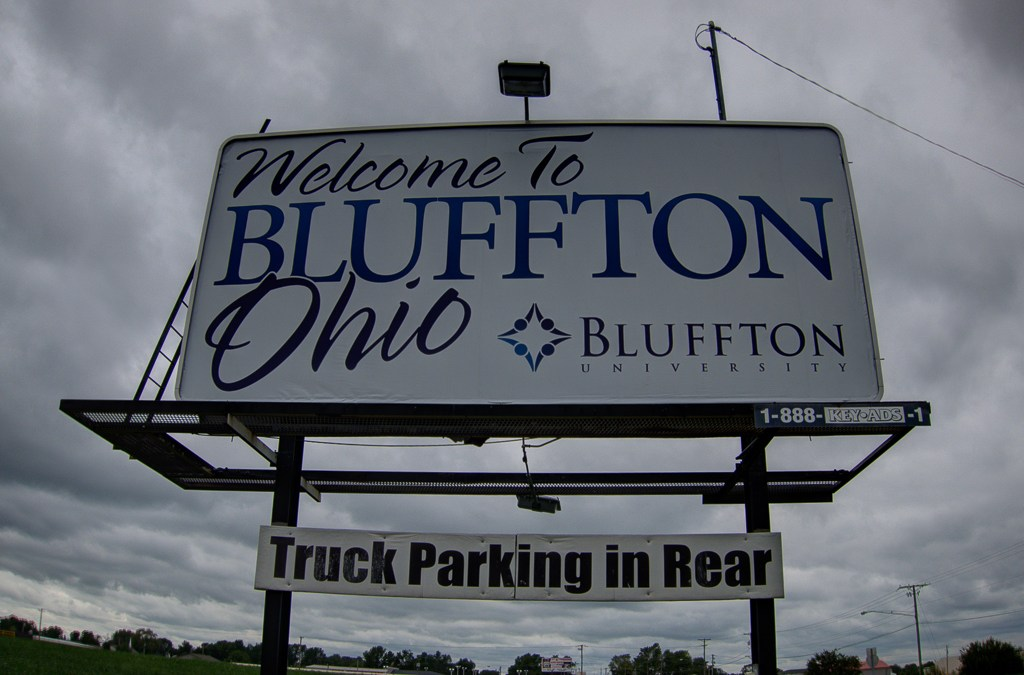 Bluffton, Ohio maintains small town charm
