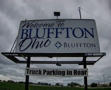 Bluffton, Ohio maintains small town charm