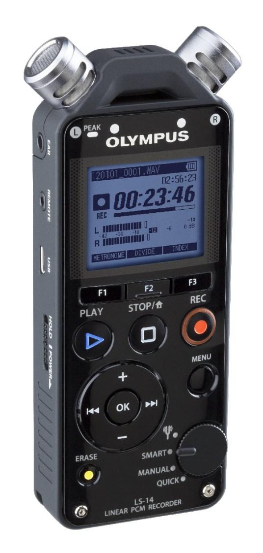 Olympus LS-14 digital audio recorder
