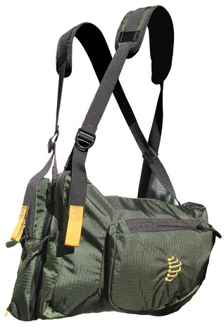 Skip the backpack and try a Ribz front pack