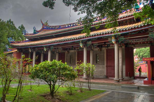 Taipei Confucius Temple in New Taipei CIty, Taiwan