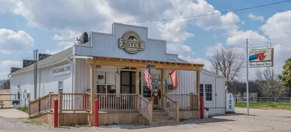 Boyce General Store outside Bowling Green, KY.