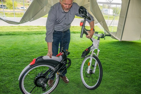 The M1 Secede electric bike