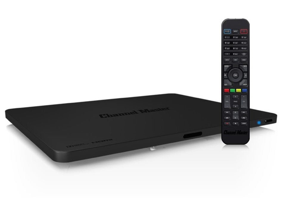 ChannelMaster DVR+ receives, programs and records free HDTV