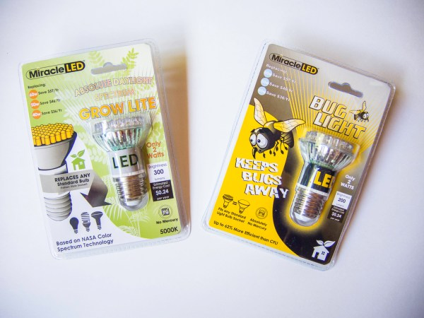 Miracle LED bulbs