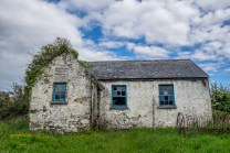 Abandonded National School House on Whiddy Island
