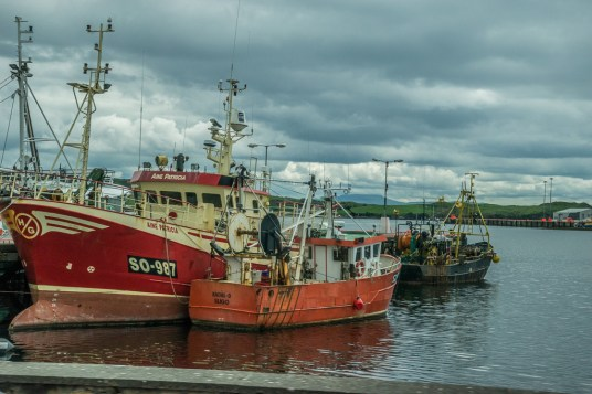 Fishing port of Killybegs, Ireland