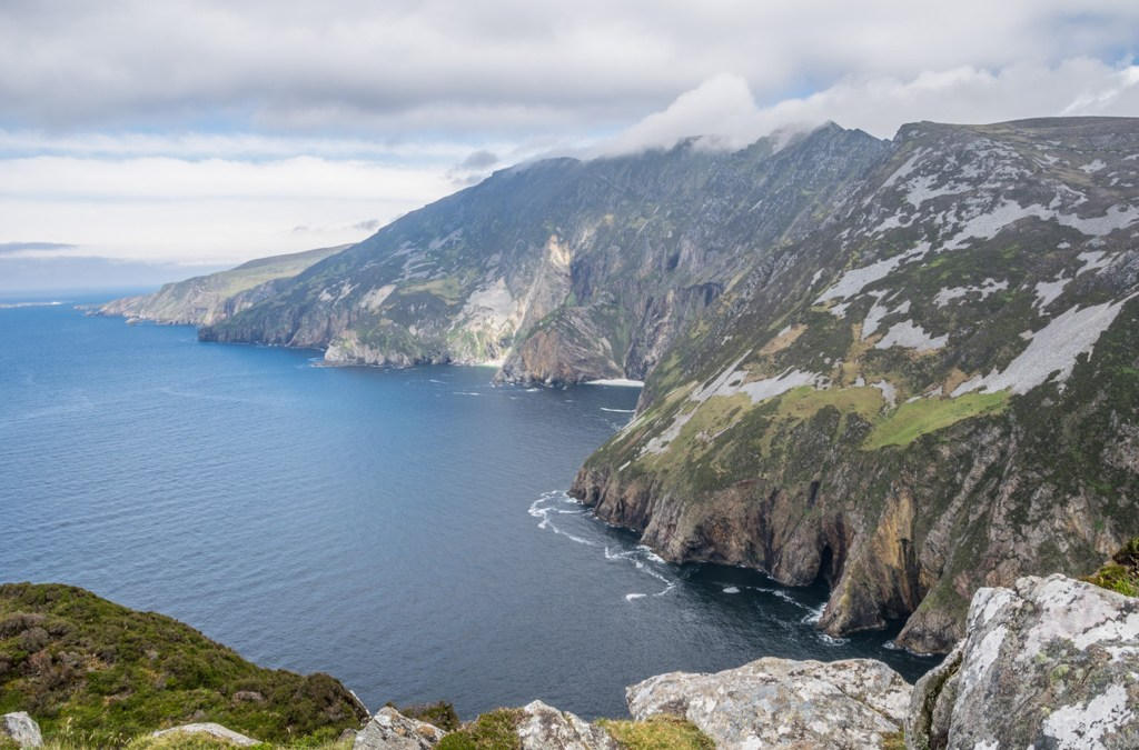 Stay away from the edge at Slieve League Cliffs
