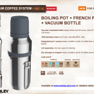 French Press for campers by Stanley